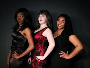 (l-r): Marie Warren Bunch, Caitlin Palmer and Dorianna James in Nightingale.